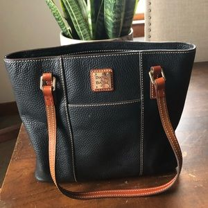 Rooney & Bourke Leather Tote